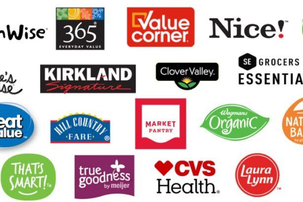 Private label logos