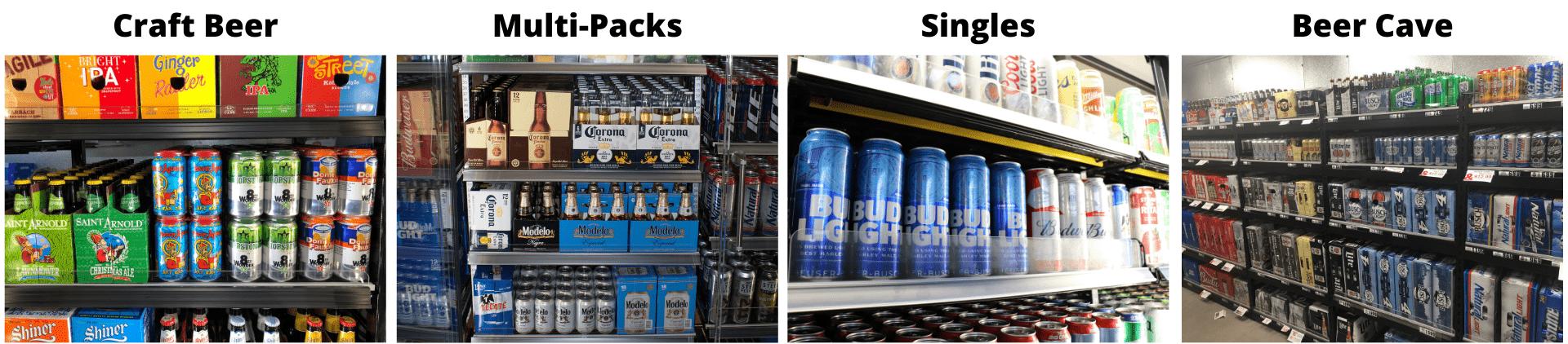 FlexRoller Beer Merchandising
